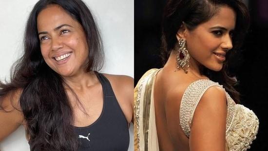 Sameera Reddy's powerful body positivity note is a much-needed self love reminder(Instagram/reddysameera)