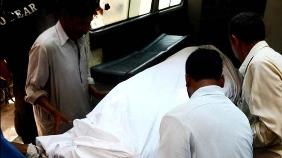 Identified as Farman, he was carrying out paint work at a flat on Saturday when he lost balance and fell down, said the Mohali police. (AFP/Representative image)