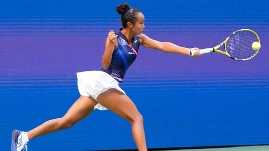 Leylah Fernandez of Canada(USA TODAY Sports)