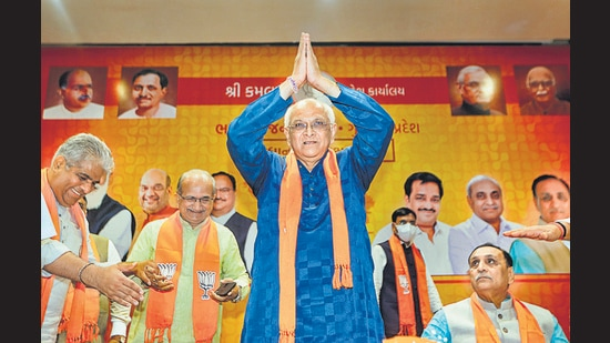 New Gujarat CM Bhupendra Patel (PTI)