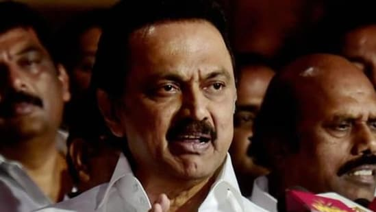 Stalin appealed to students to not lose hope and assured them that the DMK government will pass a bill in the state assembly on Monday, seeking permanent exemption from NEET.(PTI file photo)