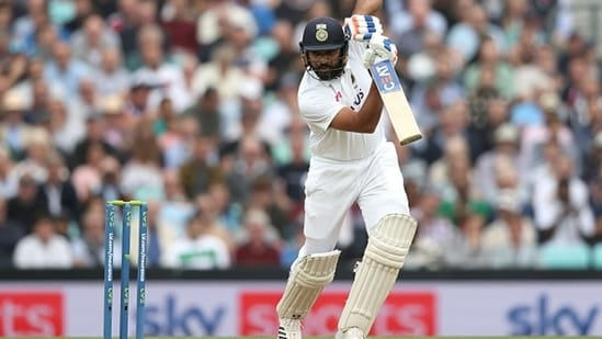 The tale of Rohit Sharma's rise as India's Test opener continued in England.(Getty)