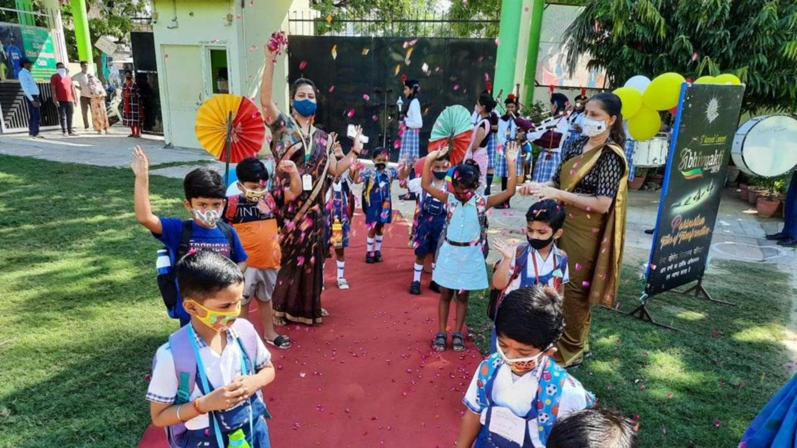 Covid: Preschoolers back in classrooms in Lucknow