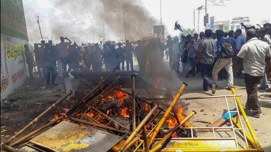The police firing happened on the 100th day of the protests demanding permanent closure of the Vedanta-owned Sterlite copper smelting plant in Thoothukudi, alleging that it caused severe pollution. (PTI)