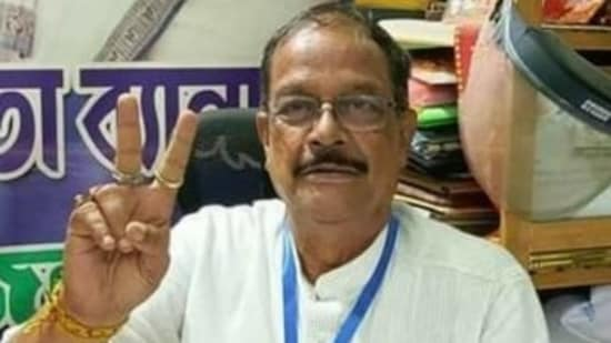 Bengal law minister Moloy Ghatak. (Twitter)