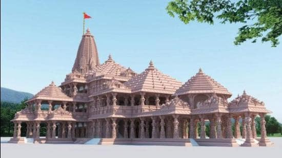 Work on the upcoming Ram temple in Ayodhya is in full swing and trust general secretary Champat Rai has said that the best of architects and engineers are working on a durable structure. (PICTURE FOR REPRESENTATION)
