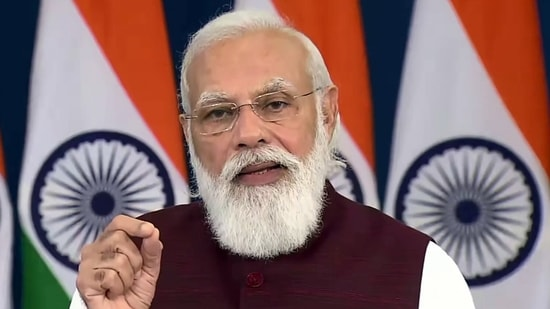 According to the PMO, the university is being established by the Uttar Pradesh government in memory and honour of Raja Mahendra Pratap Singh, who was a freedom fighter, educationist and social reformer.(ANI Photo)