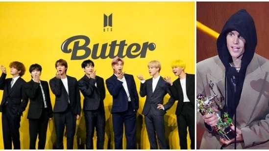 South Korean group BTS, Justin Bieber and rapper Lil Nas X emerged winners at VMA on Sunday.(AP)