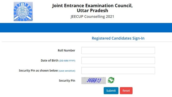 JEECUP result 2021: Candidates who appeared for the UPJEE 2021 can check their results on the official website of JEECUP at jeecup.nic.in.(jeecup.nic.in)