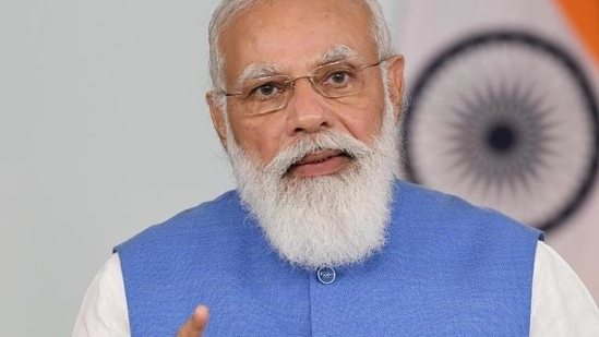 Prime Minister Narendra Modi will on Tuesday lay the foundation stone of a new university nearby in the freedom fighter's name.(File)