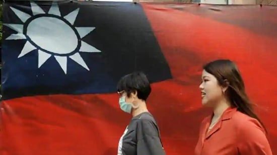 Tensions between Taiwan and China have been growing in recent months, as Beijing has stepped up air and naval drills around the self-ruled island(Reuters)