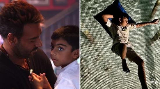 Ajay Devgn and Kajol's son Yug turned 11 on Monday.
