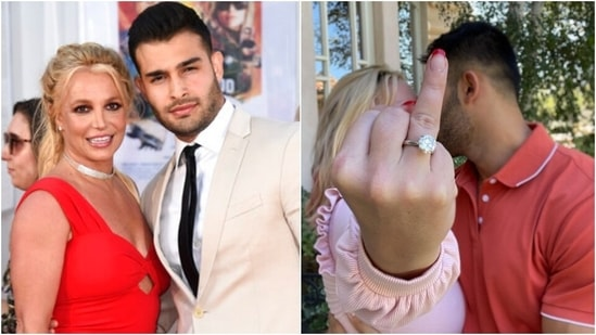 Britney Spears announces engagement to longtime boyfriend Sam Asghari, see video(AP, Instagram)