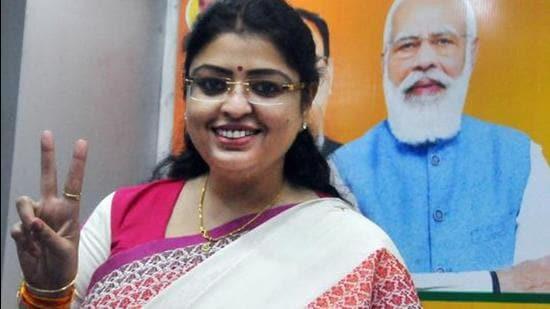 BJP's Priyanka Tibrewal. (File photo)