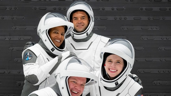 Inspiration4 crew (Image credit: SpaceX)