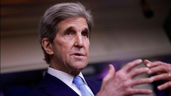 US special presidential envoy for climate John Kerry. (File photo)