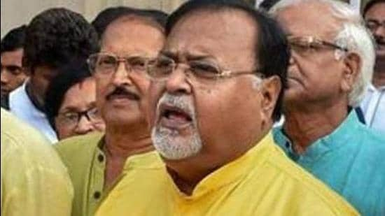 West Bengal minister Partha Chatterjee was allegedly seen with the chief of I-Core group, accused of money laundering. (Courtesy Photo: PTI)