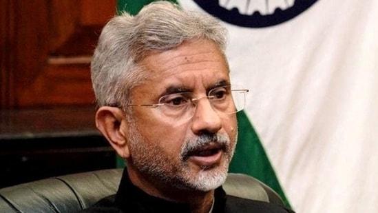Union external affairs minister S Jaishankar . (PTI Photo)