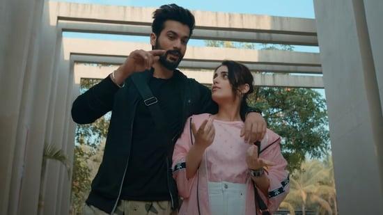 Sunny Kaushal and Radhika Madan in the trailer of Shiddat.