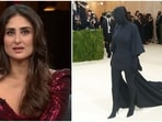 Kareena Kapoor doesn't seem to be a fan of Kim Kardashian's outfit.