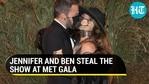 Why Jennifer Lopez, Ben Affleck's Met Gala mask PDA is going viral: Covid-era kiss