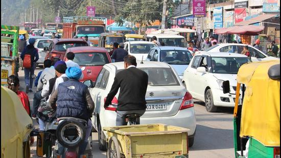 """The electric vehicle policy envisages making registration of private and commercial e-vehicles in Chandigarh easier and quicker by offering """"immediate online registration"""". (HT FILE PHOTO)"""