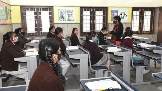 Based on the response from children during the implementation of the pilot project, a decision will be taken on how the plan will be executed in other schools (File photo)