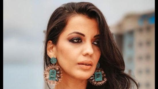 Mugdha Veira Godse is currently shooting for a web-series in Lucknow. (Sourced)