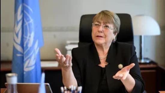 UN Human Rights chief Michelle Bachelet. (File photo)