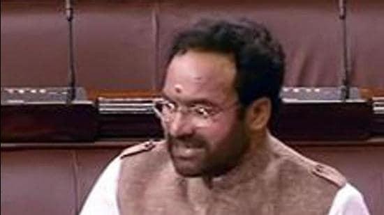 G Kishan Reddy. (File photo)