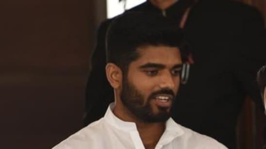 LJP leader Prince Raj (HT file photo)
