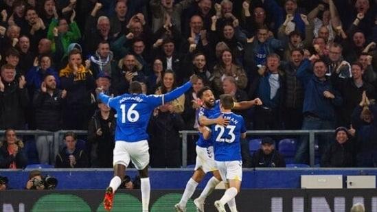 Everton goal rush stuns Burnley 3-1 in EPL(AP)