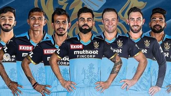 RCB to wear blue jersey to pay tribute to frontline workers(RCB / Instagram)