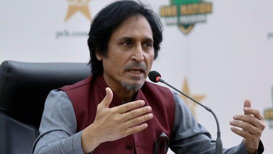 PCB chief Ramiz Raja(AP)