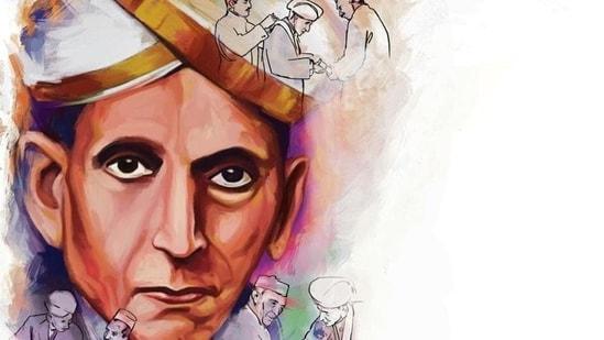 Mokshagundam Visvesvaraya received the Bharat Ratna in 1955 for his work in engineering and education.(ILLUSTRATION: Rushikesh Tulshiram Gophane)