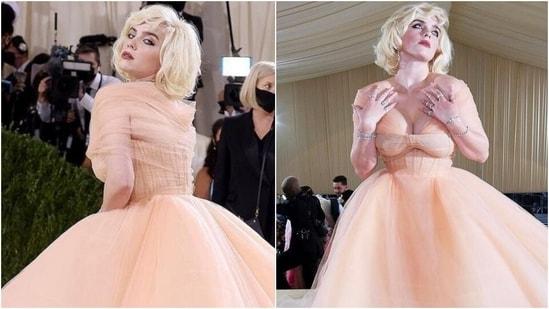 Met Gala 2021: Billie Eilish in Oscar De La Renta gown has her Princess moment at Met Gala(Instagram)
