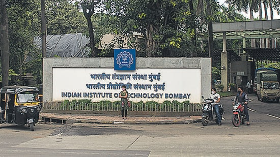 Indian Institute of Technology-Bombay (IIT-B) have launched an artificial intelligence (AI)-based software ecosystem. (Pratik Chorge/HT PHOTO)