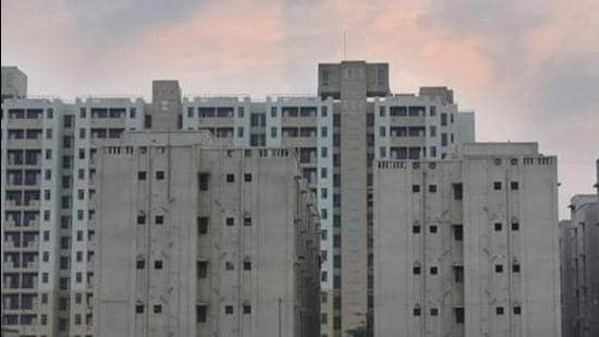 The land pooling policy is aimed at providing 17 lakh dwelling units in the city to meet the growing housing need. (Amal KS/HT PHOTO)