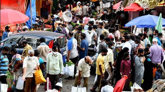 Out of the 559 new Covid cases reported in Karnataka, 231 were from Bengaluru Urban, as the city saw 302 discharges and 4 deaths. (Agency)