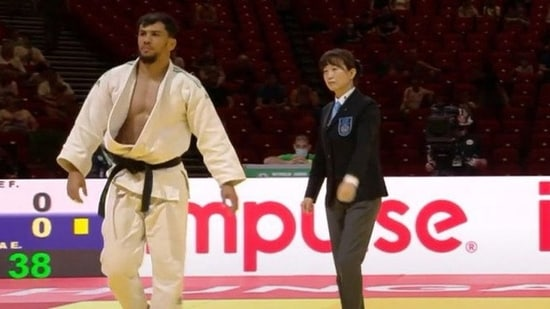 Algerian judoka banned 10 years for refusing Olympic bout(TWITTER)