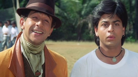 Naseeruddin Shah worked with Shah Rukh Khan in films such as Chamatkar.