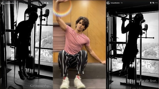 Ishaan Khatter's Calisthenics workout is Tuesday fitness inspo to grind(Instagram/ishaankhatter)
