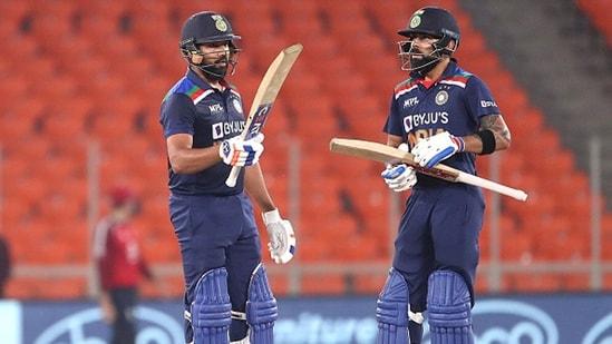 Rohit Sharma (L) and Virat Kohli.(BCCI)