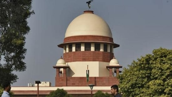 The Supreme Court pulled up advocate Pradeep Kumar Yadav for filing the petition.(Burhaan Kinu/HT File Photo)