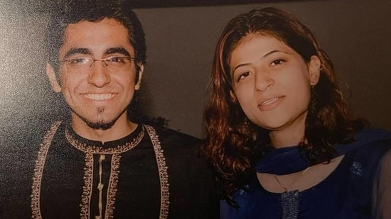 Tahira Kashyap wished husband Ayushmann Khurrana with a throwback picture from the time when he sang a song for her.