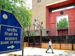 The RBI keeps informing people about bank frauds and how criminals try to extract information from them.(Bloomberg File Photo)