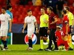 Sevilla salvages 1-1 draw with Salzburg(REUTERS)