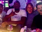 Anil Kapoor shared photos with Usain Bolt and Mo Farah.