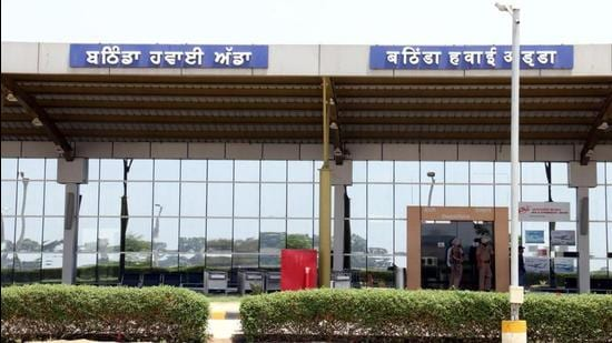 Flight winter schedule for Bathinda has no flight, airport director Varinder Singh has said. (HT Photo)