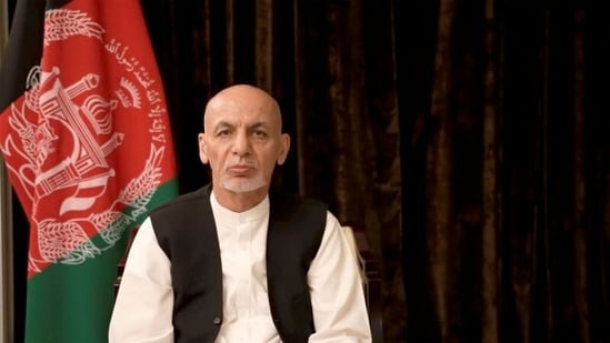 Ashraf Ghani was supposed to remain in his post until a political negotiation was reached, Zalmay Khalilzad said.